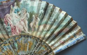 Panaches émaillés d'amours, vers 1750